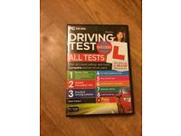 Driving theory test and hazard perception cd