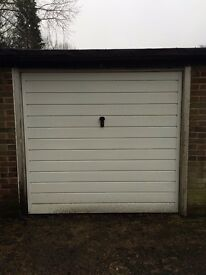 Lock-up garage available in Stafford Road, Caterham for storage of vehicle or items