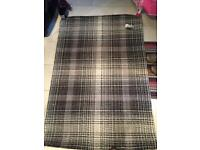 Brand New Next Astley Check Rug