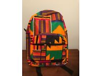 African Print Handmade bags proceeds for charity