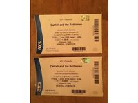 Catfish and the Bottlemen tickets x 2