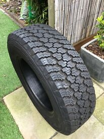 Goodyear Wrangler 245/75/R17, set of 4 tyres, great for Suv or pick up truck