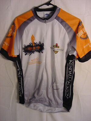 VOLER CLUB CYCLING JERSEY - TOUR DE FOX KENDALL JACKSON - MENS SIZE LARGE 4bd635451
