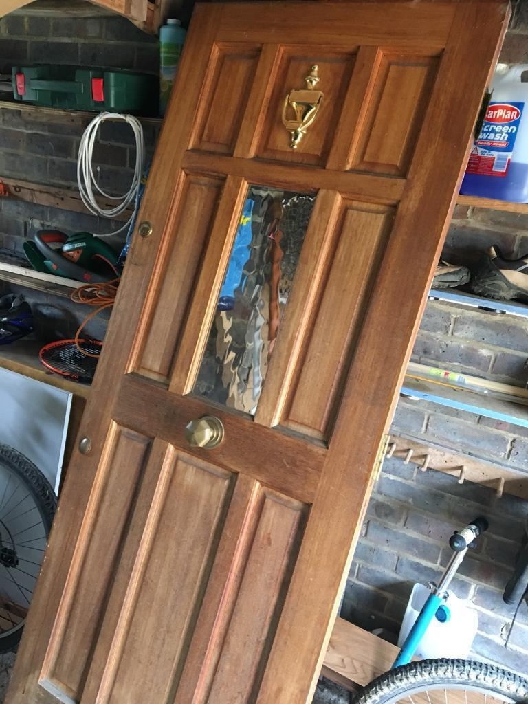 Solid Wood External Front Door In Chiddingfold Surrey