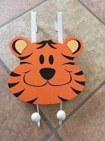 Tiger door hanger