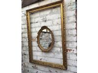 Plaster mirror