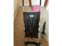 Light weight pushchair