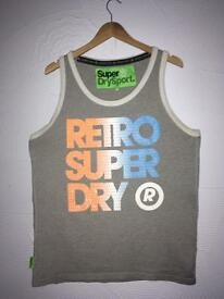 MENS GENUINE SUPERDRY VEST