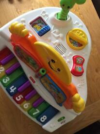Fisher price kids laugh and learn piano for sale