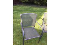Garden Chairs (metal) £40