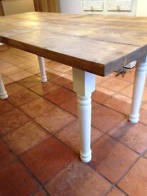 Made to order dining tables