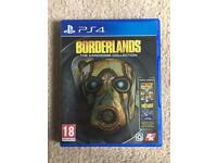PS4 borderlands the handsome collection game