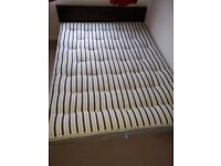 pocket sprung queen size mattress - great condition