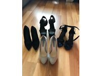 Bulk lot of size 5 heels