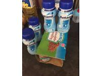 Free- 4 aptamil first baby ready milks and pack of chocolate puddings
