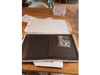 Brand new griddle in box