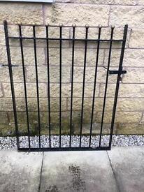 Wrought Iron Style Ball Finial Garden Gate Ball top metal garden gates