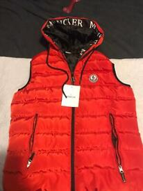 Men's body warmer gillet