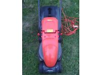 delivery available , light weight , electric lawnmower , lawn mower , flymo ( not petrol lawnmower )