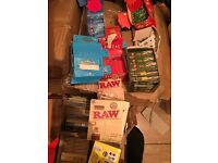 Rizla papers /tips/lighters/roach e liquids job lot