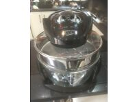 Used, GINO DACAMPO 12L HALOGEN OVEN WITH 5 LITRE EXTENDER RING NEW NEVER USED for sale  Leicester, Leicestershire