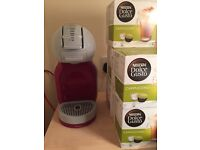 Dolce Gusto Krups Coffee Machine with 40 FREE COFFEES INCLUDED!