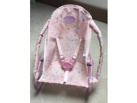 Baby Annabell doll's bouncer chair.