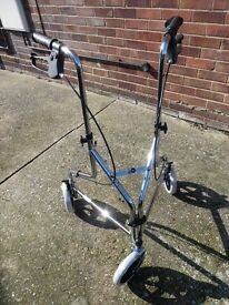 mobility walking frame,brand new with bag,basket and tray