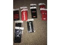 iphone 6 / 7 job lot cases supreme and givenchy