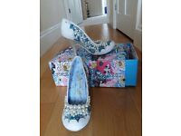 Irregular Choice shoes, nearly new condition