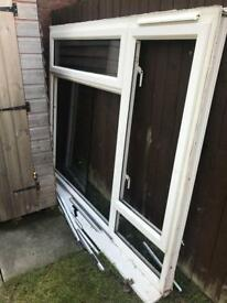 Window frame and glass