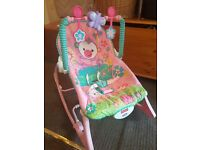 Fisher price baby seat/ rocker