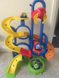 Children's toy Oball car gripper bounce and zoom