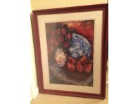 John Lewis purchased lounge wall hanging picture