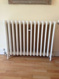 Ideal standard cast iron radiators 4400 btus 14 sections refurbished