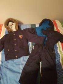 Boys snowsuit & Jacket