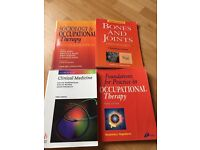 Medical and occupational therapy text books