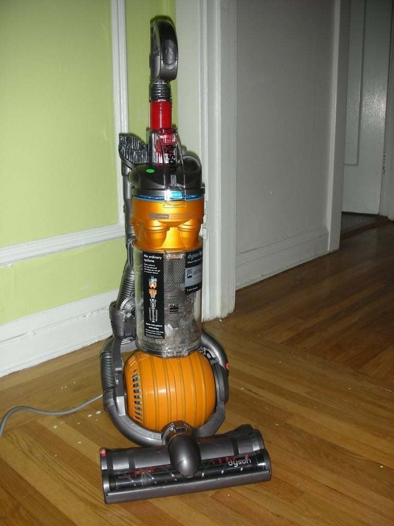 Dyson dc24 upright small ball all floors hepa vacuum for Dyson dc24 brush motor replacement