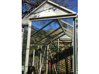 FREE Greenhouse Frame with Glass on top