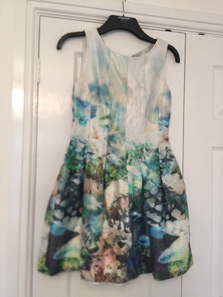 Zara Ladies watersilk dress