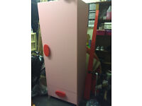 Great offer!! Floating shelf for kids room+wardrobe and drawers for sale.