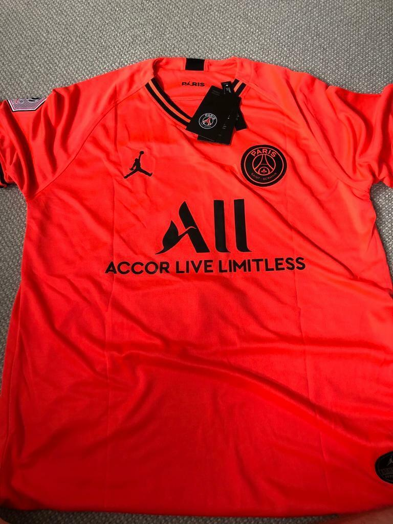 best loved f8fb7 44157 PSG 2019/20 Away Shirt Mbappe 7 | in Crewe, Cheshire | Gumtree