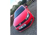 2009 Red Volkswagen Polo S 1.2