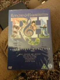 REDUCED PRICE Box Set Rodgers and Hammerstein Musicals