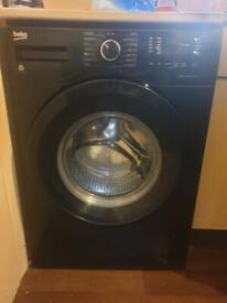 Beko A+++ 1400rmp 7kg all black washing machine