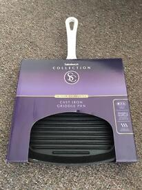 Brand New Cast Iron Griddle Pan