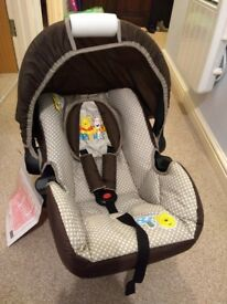 Brand new. Hauck car seat
