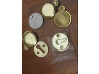New Brass Cover escutcheon plates