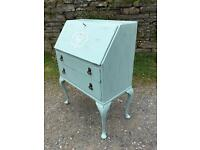 Vintage painted writing bureau