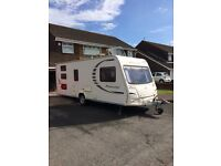 6 berth touring caravan. Triple bunks